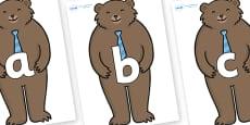 Phoneme Set on Daddy Bear