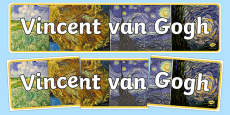 Van Gogh Display Banner