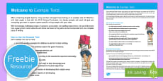 Example Texts User Guide