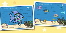 Australia - Word Mat Images to Support Teaching on The Rainbow Fish