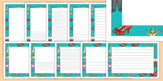 The Elves and the Shoemaker Page Borders