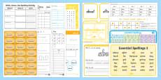 Essential Spelling List 3 Resource Pack