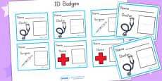 Australia - Hospital ID Badges