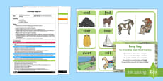 EYFS The Three Billy Goats Gruff Rhyming Busy Bag Plan and Resource Pack