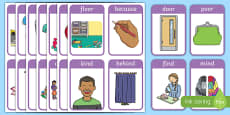 Year 2 Spelling List Flashcards