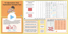 * NEW * Y5 Information Texts: Explanation Example Text