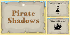 Pirate Themed Shadow PowerPoint