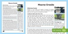 Mourne Granite Fact File
