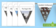 * NEW * Edinburgh Photos Display Bunting