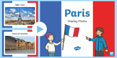 Paris Display Photo PowerPoint