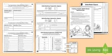 * NEW * Main and Subordinate Clause Activity Sheet Resource Pack