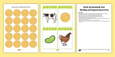 Climb The Beanstalk Oral Blending And Segmenting Activity Resource Pack