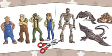 The Iron Man Picture Cut Outs