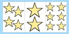 Editable Stars
