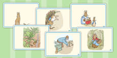 The Tale of Peter Rabbit Story Sequencing Cards