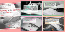 Writing Quote Posters for KS4