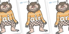 Phase 3 Phonemes on Wild Thing (1) to Support Teaching on Where the Wild Things Are