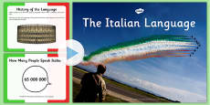 Italian Language PowerPoint