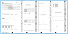 Common Core 3rd Grade G Standard Review Pack