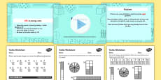 Year 3 Fractions (Tenths) Differentiated Lesson Teaching Pack