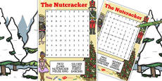 The Nutcracker Wordsearch