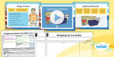 PlanIt - D&T KS1 - The Lighthouse Keeper's Lunch Box Lesson 3: Exploring Materials Lesson Pack