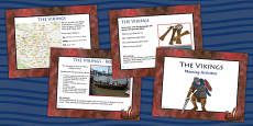 1 Week Viking Topic Morning Activities UKS2