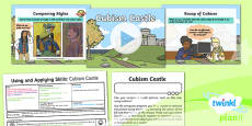 PlanIt - Computing Year 2 - Using and Applying Skills Lesson 2: Cubism Castle Lesson Pack