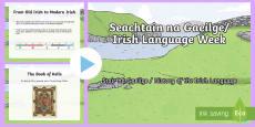 History of the Irish Language PowerPoint