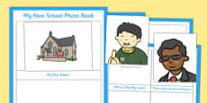 My New School Photo Book