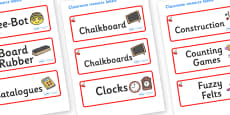 Cherry Themed Editable Additional Classroom Resource Labels