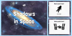 Space Themed Shadow PowerPoint