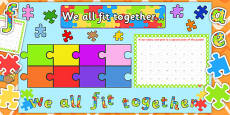 Ready Made We All Fit Together Display Pack