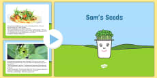 Sam's Seeds Story PowerPoint