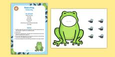 Feed a Frog Sensory Bag
