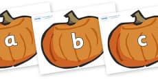 Phase 2 Phonemes on Pumpkins