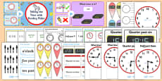 Time and Clock Reading Teaching Resource Pack