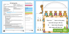 EYFS How Many Bears? Adult Input Plan and Resource Pack