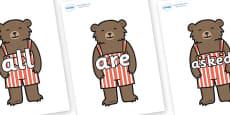 Tricky Words on Little Bear