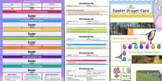 EYFS Easter Themed Lesson Plan Enhancement Ideas and Resources Pack