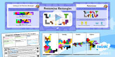 PlanIt Y5 Properties of Shapes SolveIt Lesson Pack