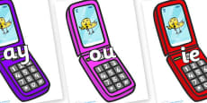 Phase 5 Phonemes on Mobile Phone