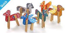 Enkl Little Pony Peg Animals Printable
