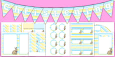 Christening Decorations Pack