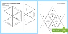Reactivity of Metals Tarsia Triangular Dominoes