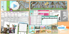 PlanIt - Science Year 2 - Animals Including Humans Unit Pack