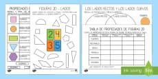 Pack de recursos - Las propiedades de las figuras 2D