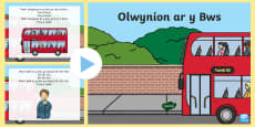 The Wheels on the Bus PowerPoint Welsh