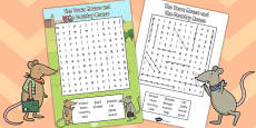 The Town Mouse and the Country Mouse Wordsearch
