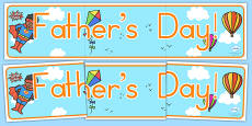 Father's Day Display Banner (Australia)